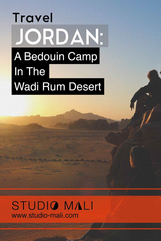 Jordan - A Bedouin Camp In The Wadi Rum Desert, by Studio Mali