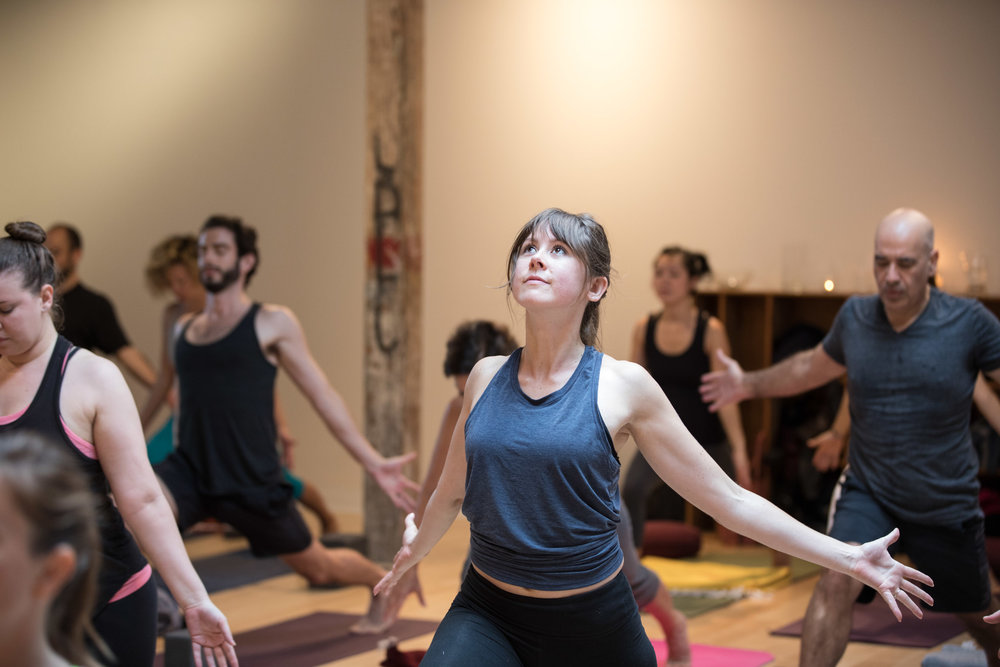 Community oriented yoga