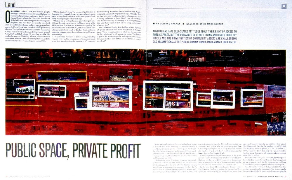Public Space, Private Profit