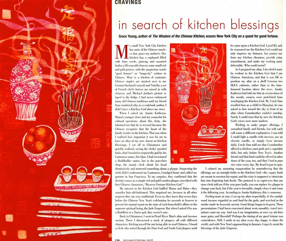 In Search of Kitchen Blessings