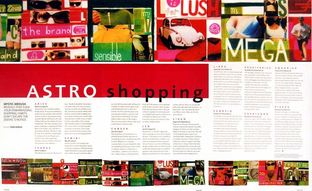 Astro Shopping