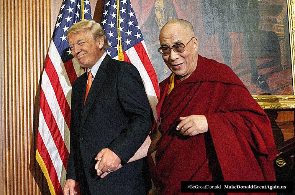 "Donald plans to meet for two sessions a month with his holiness. ""Sometimes we might need to do it over FaceTime. Or Skype. But there's no way I'm going to cancel."""