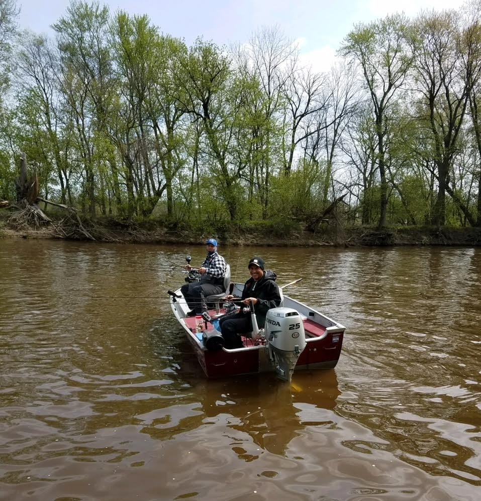Fishing Weekend in April