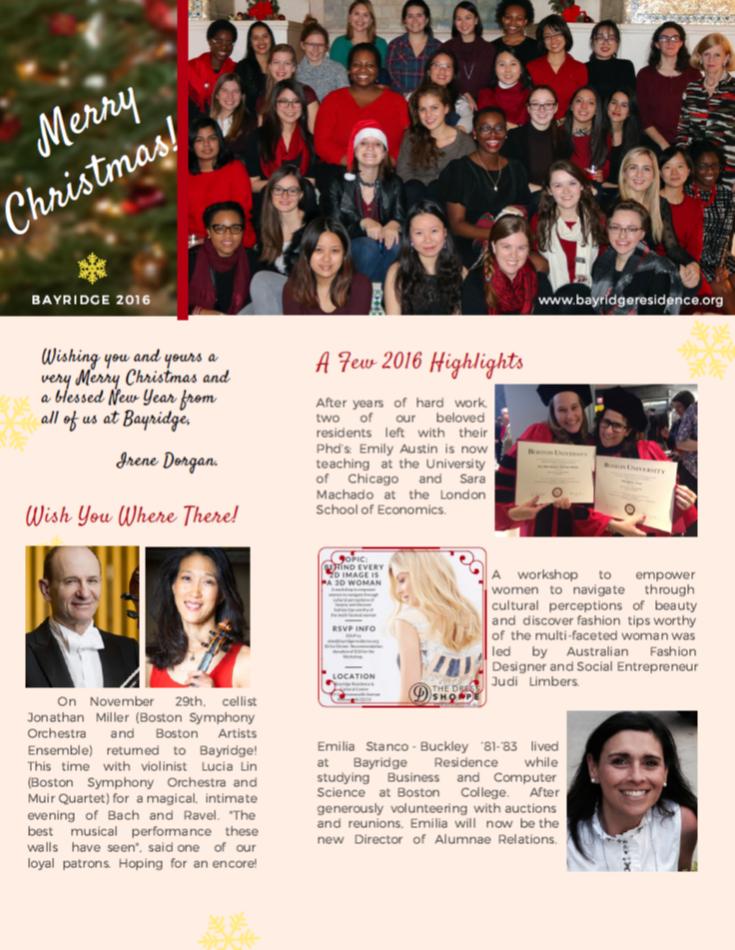 2016 Newsletter