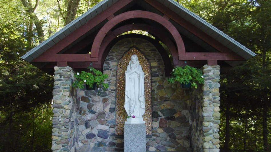 Shrine of Our Lady at Arnold Hall Conference Center