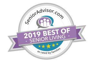 Senior LivingAward.JPG