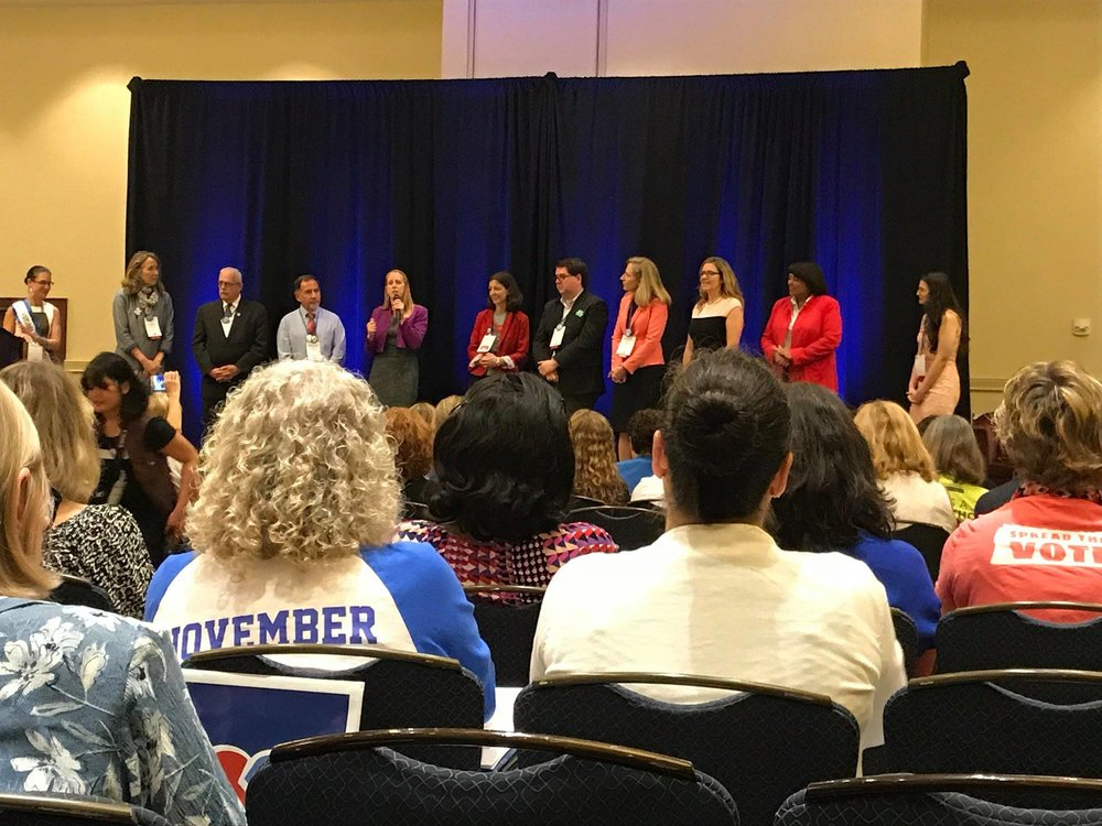 The Virginia Congressional Candidates at the Virginia Women's Forum 2018