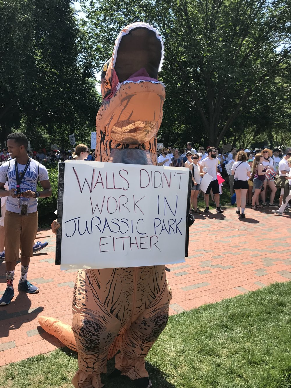Signs at the Immigration Rally (June 30, 2018)