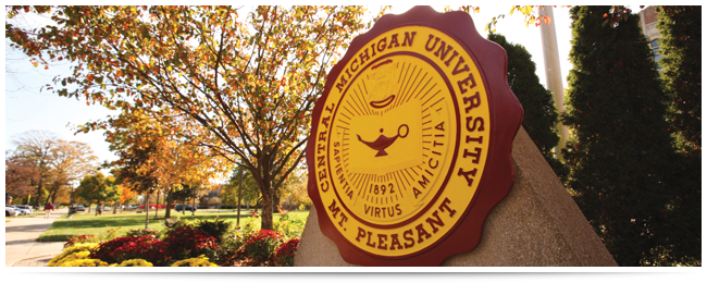"""Central Michigan University, an inclusive community of scholars, is a national leader in higher education inspiring excellence and innovation."" -Adopted by the Board of Trustees, Dec 6, 2012"