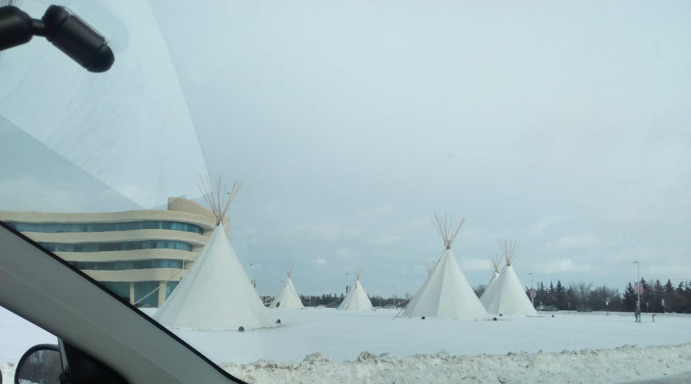 View of the First Nations University, which is part of the University of Regina's campus, Saskatchewan