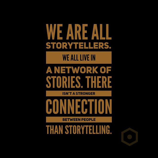 We are all storytellers. We all live in a network of stories. There isn't a stronger connection between people than storytelling. . . . . . . . #transformingbrands #iamcreative #creativepassion #handcrafted #visualartist #creativeentrepreneur #visualstoryteller #filmmaker #motivationalquotes #story #storytelling #branding #storyteller #storyisking #videomarketing #businesstipsforcreatives #kcentrepreneur #branding #marketing #entrepreneurlife