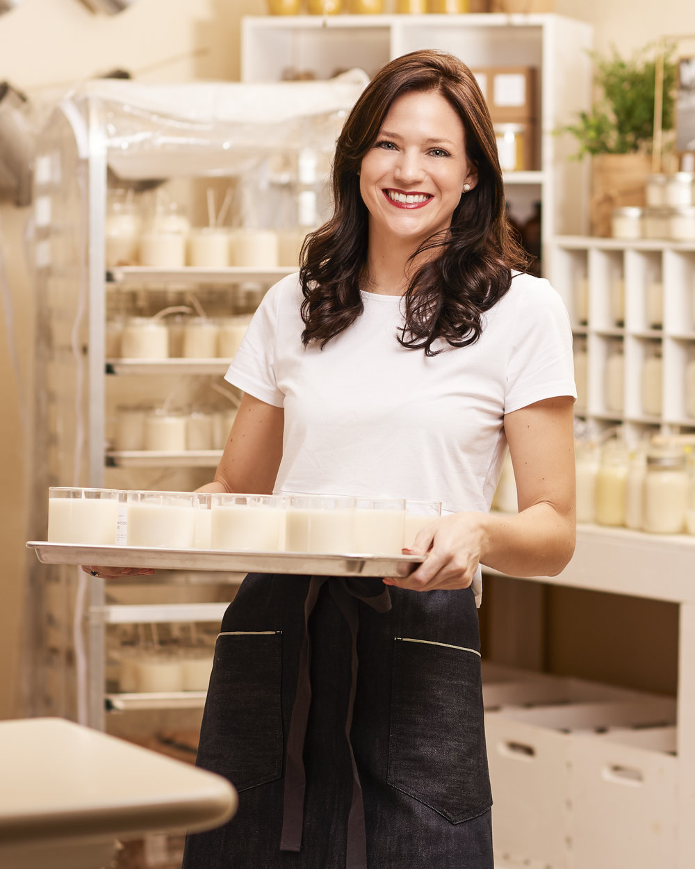 Courtney Byus of Simple Soy Candle Co. for Whole Foods Market