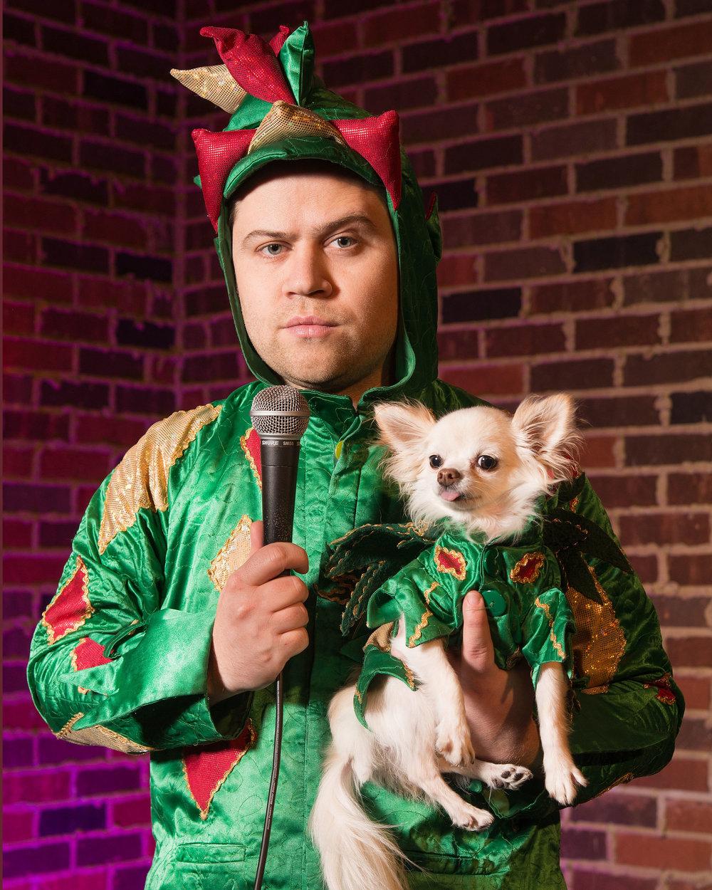 Piff The Magic Dragon - America's Got Talent