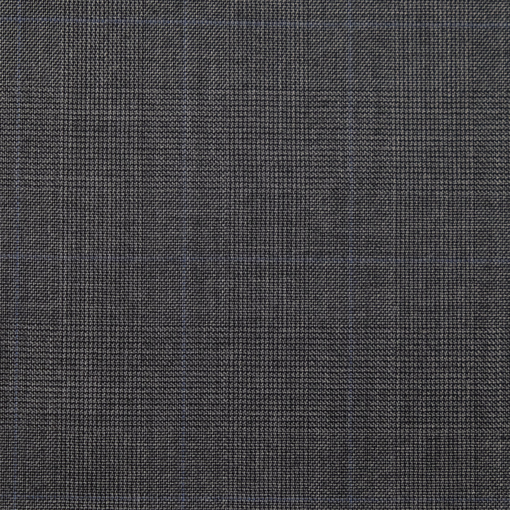 002 Grey Prince of Wales Super 120's Wool