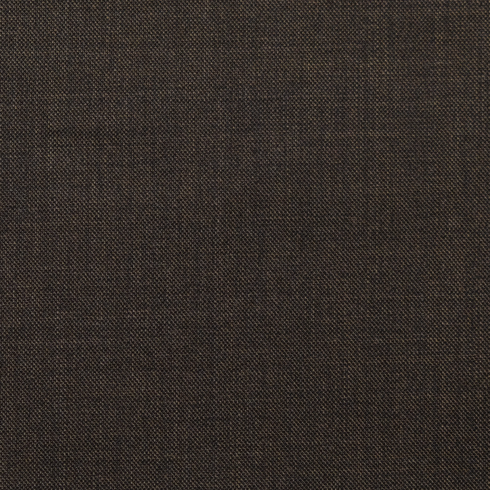 013 Brown Step Twill Super 120's Wool
