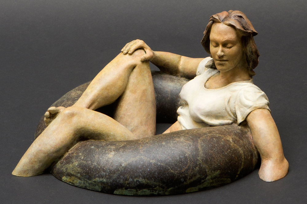 bask bronze sculpture david phelps