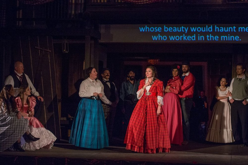 Hannah in The Merry Widow