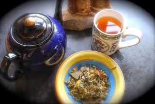 Herbal Tea tea pot, herbs .jpg