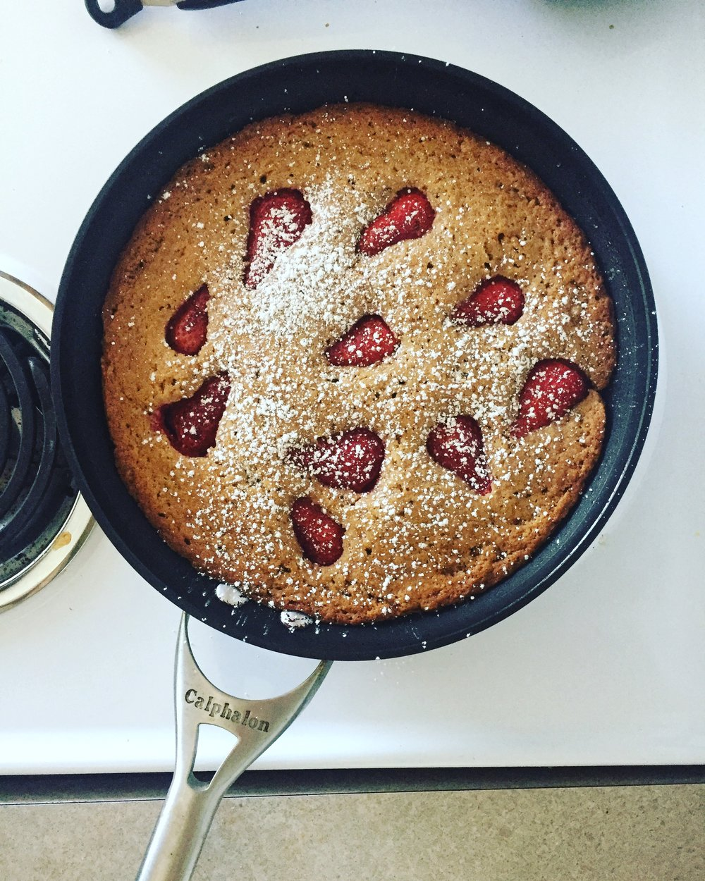 Whoever came up with breakfast cake is a genius. Recipe  here .