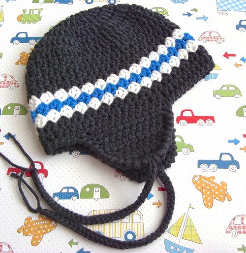 Earflap Hat Crochet Pattern, 11 — Lisa Corinne Crochet