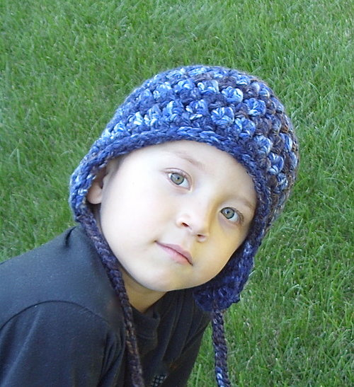 Easy Winter Earflap Hat Crochet Pattern 29 Lisa Corinne Crochet