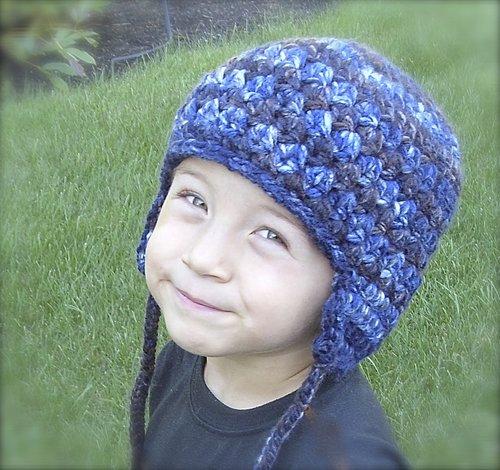 Easy Winter Earflap Hat Crochet Pattern 29 Lisa Corinne Crochet