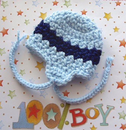 Earflap Hat, Bulky Yarn Hat Crochet Pattern, 30 — Lisa Corinne Crochet