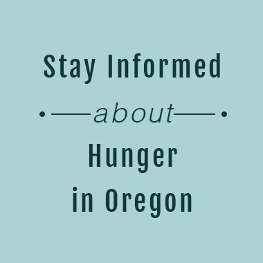 Subscribe to Partners for a Hunger-Free Oregon's e-news .