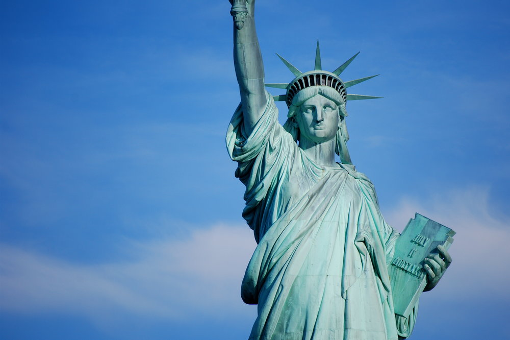Image:  NY Status of Liberty by Celso Flores .