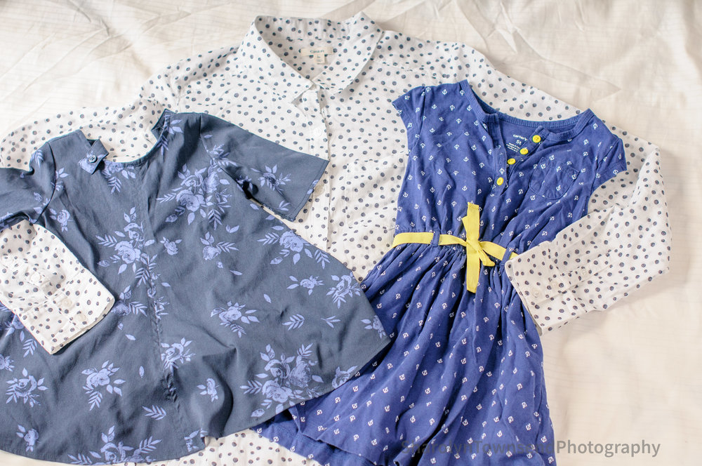 Shirt and two toddler dresses for $11