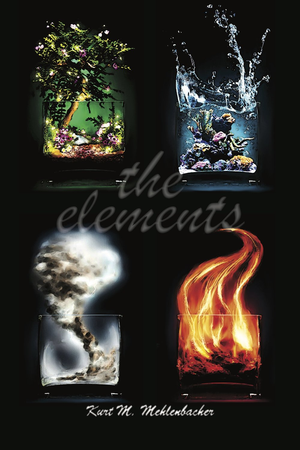 the elements       for large wind ensemble (piccolo, 4 flutes, alto flute, 2 oboes, english horn, 4 Bb clarinets, bass clarinet, 2 bassoons, contrabassoon, soprano saxophone, alto saxophone, tenor saxophone, baritone saxophone, 4 horns, 3 C trumpets, 2 trombones, bass trombone, 2 euphoniums, 2 tubas, percussion [3 players], harp, piano)