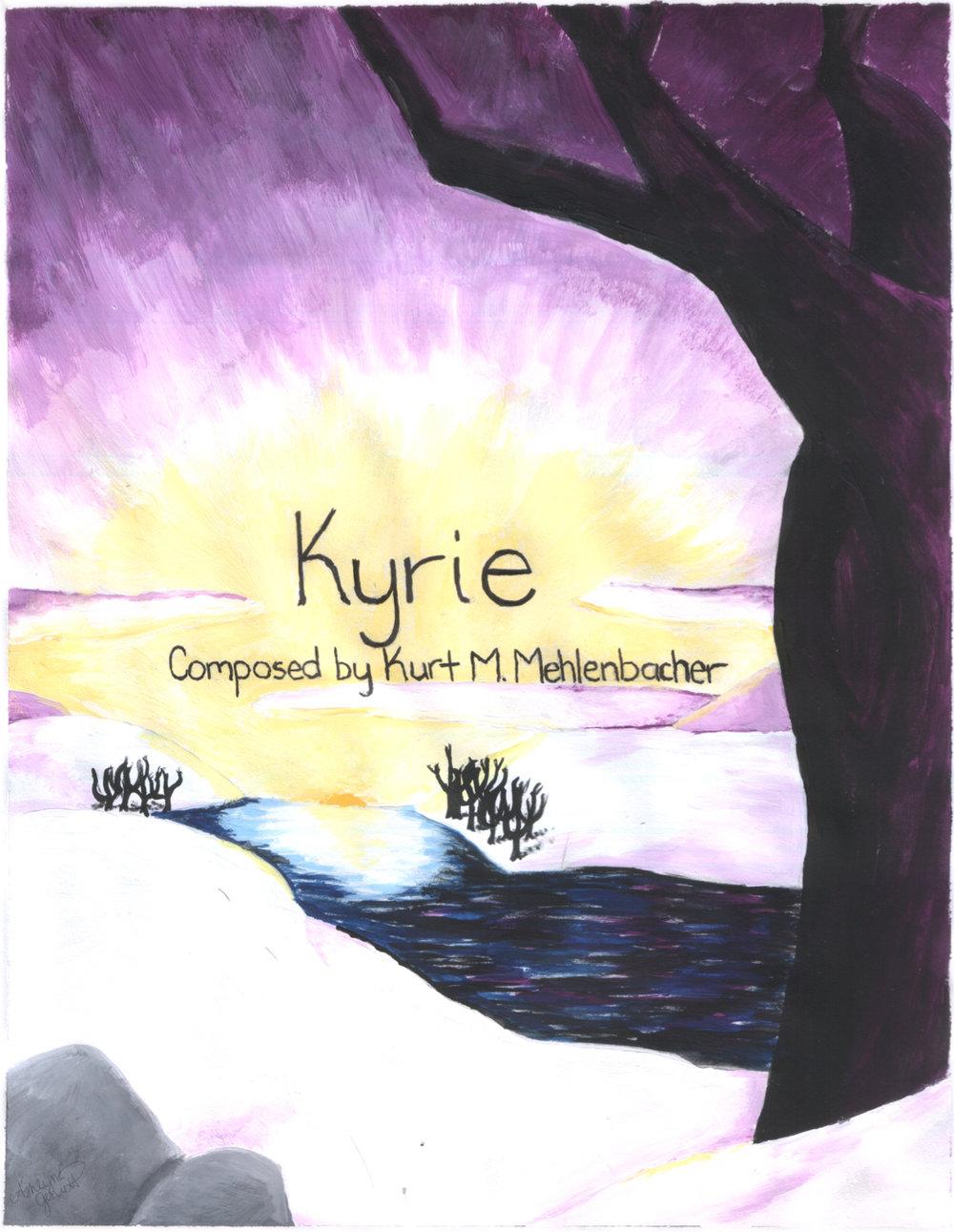 Kyrie     for mixed choir (SATB a cappella)