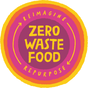 Zero Waste Food: Reimagine / Repurpose Logo