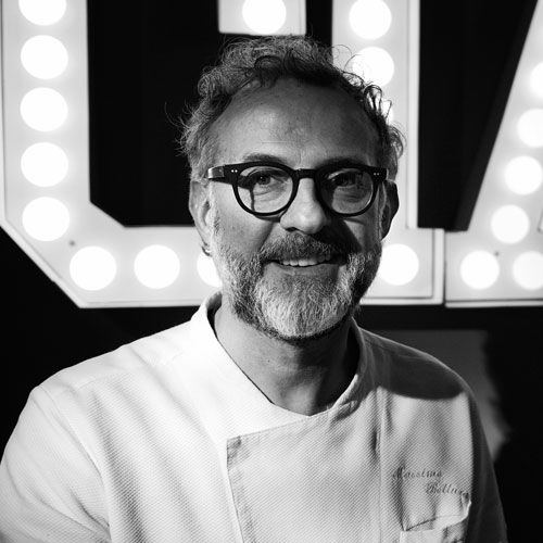 Massimo Bottura Founder Food for Soul Chef/Owner Osteria Francescana Modena, Italy