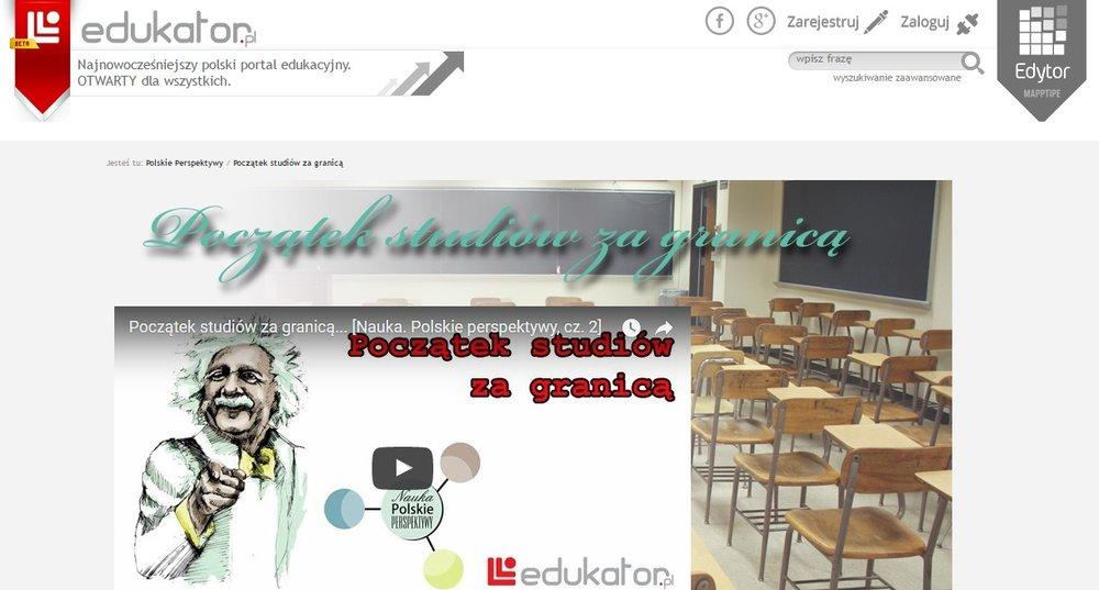 Nauka: Polskie Perspektywy - Początek studiów za granicą - edukator.pl