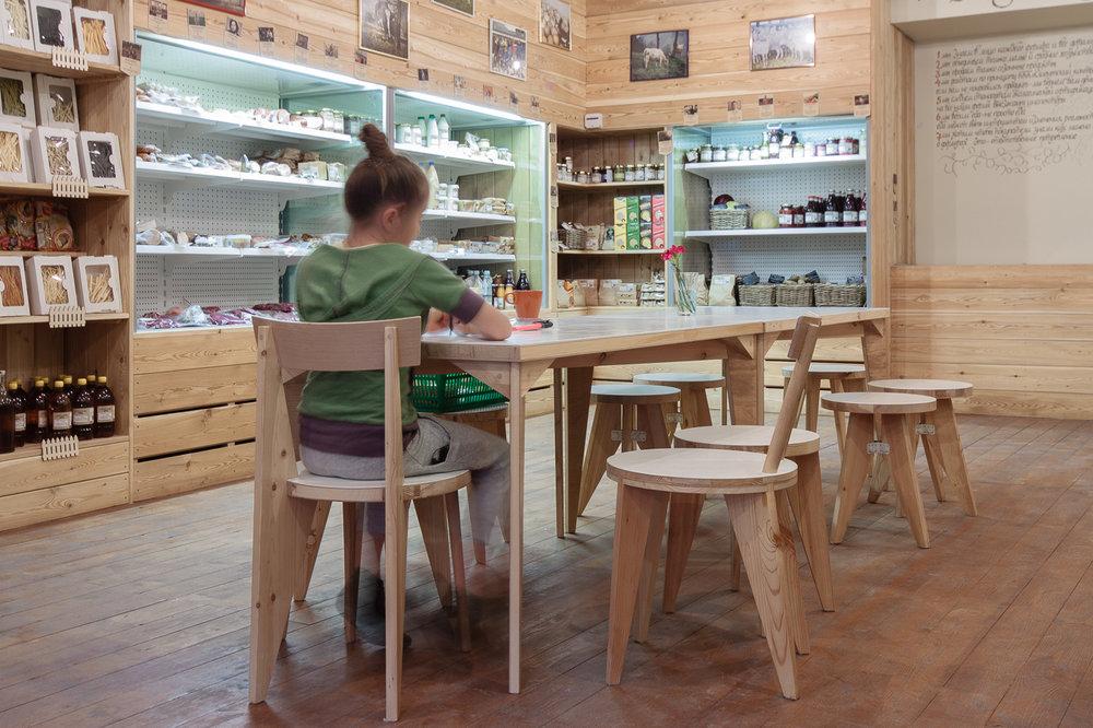 Мебель для магазина LavkaLavka
