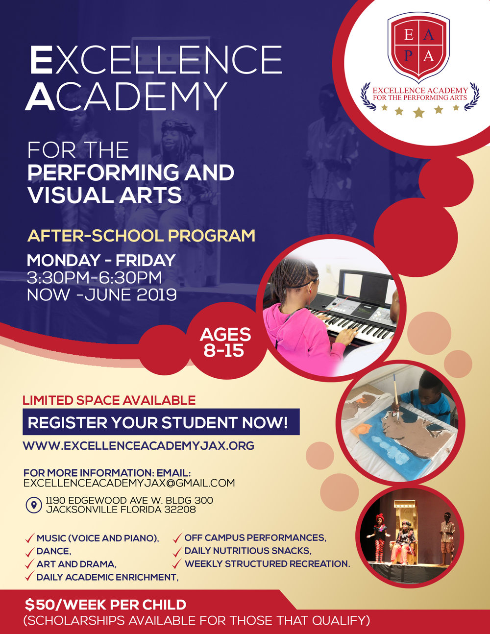 After School Program Excellence Academy For The Performing Arts