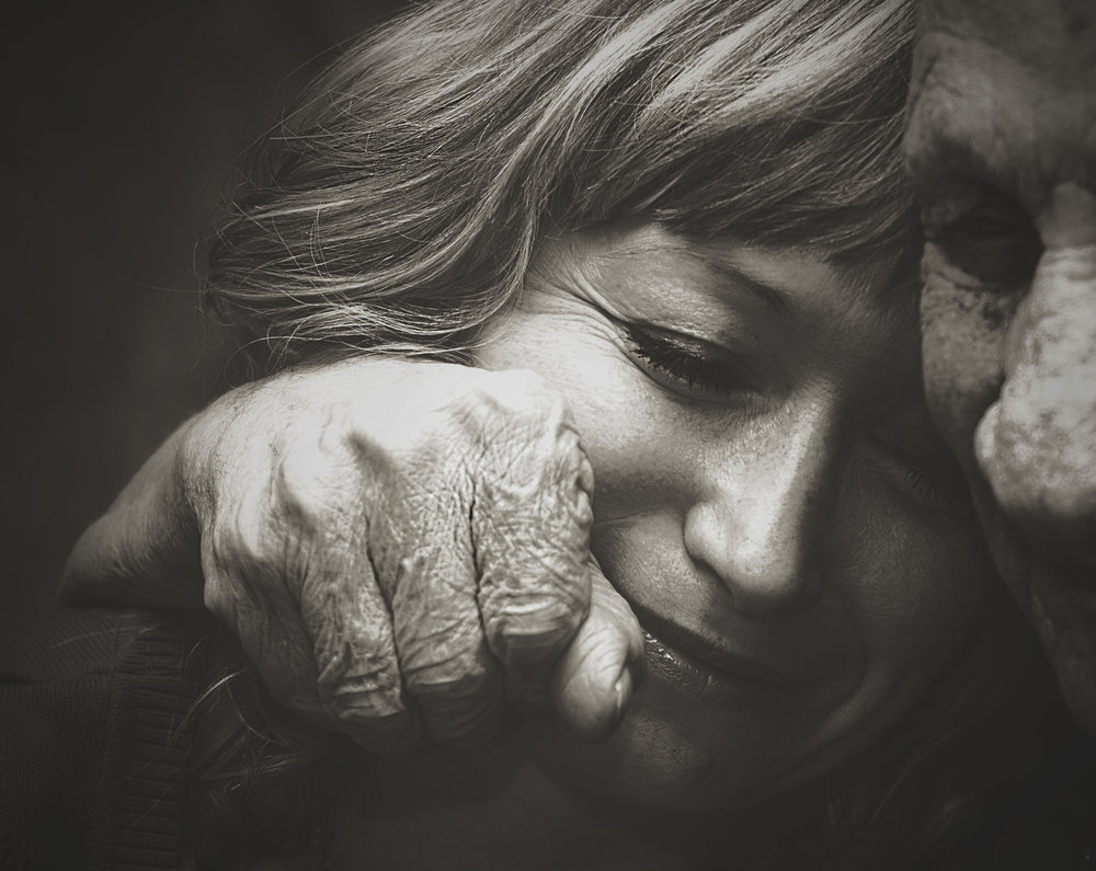 Photographer:    Samio Rox   Country:  USA  Title:  In the hug of the grandfather
