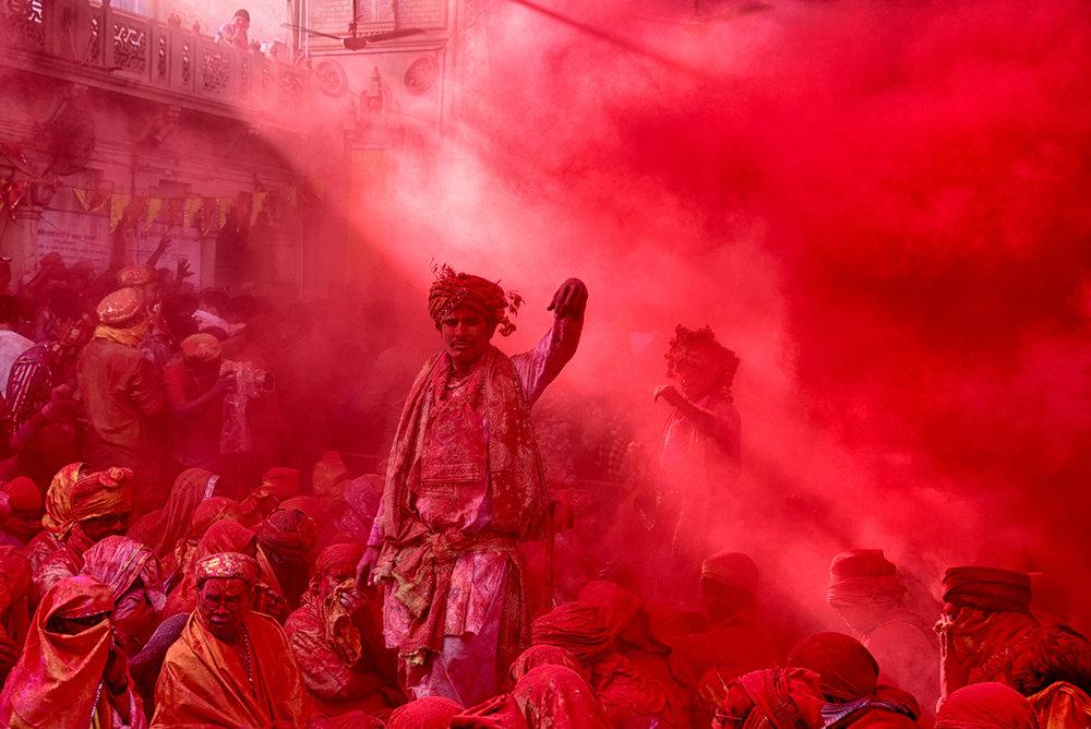 Photographer: Debdatta Chakraborty   Country: India  Title: Vermillion Storm