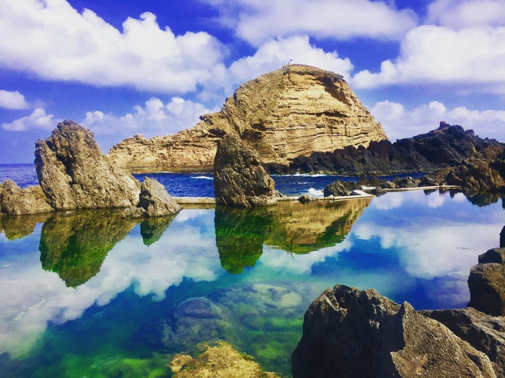 Photographer:   Michelle Howlett   Country:  United Kingdom  Title:  Reflections in Madeira