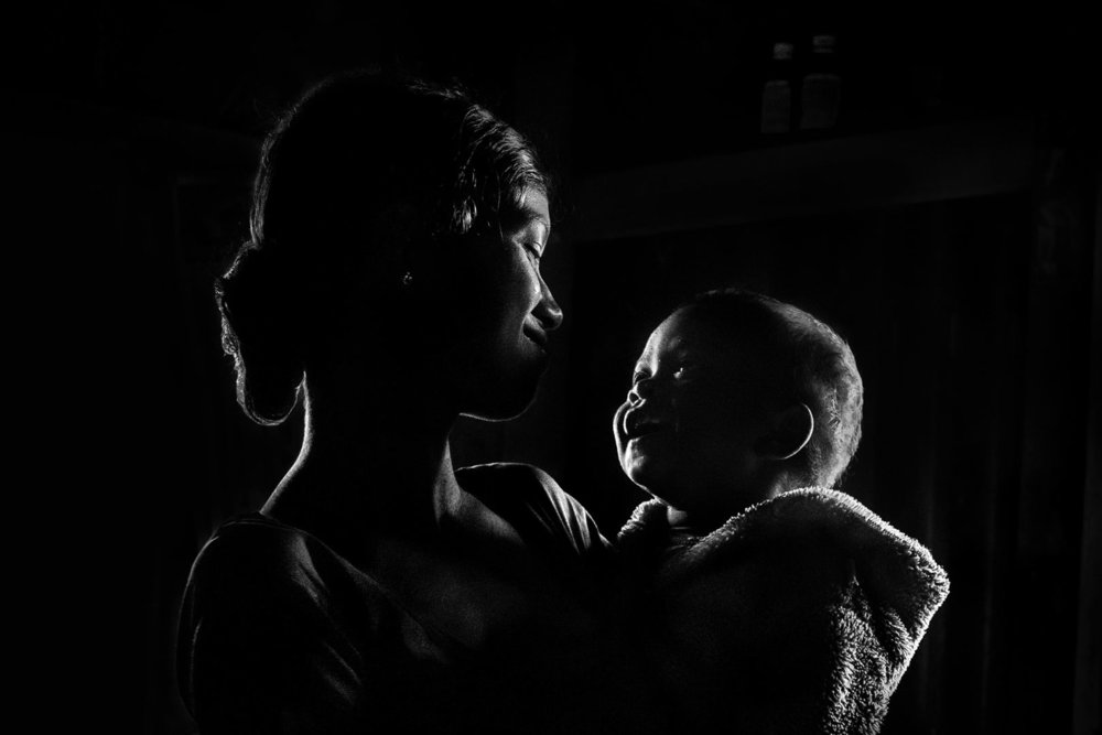 Photographer:  Sujan Sarkar   Country:  India  Title:   Mother and Child