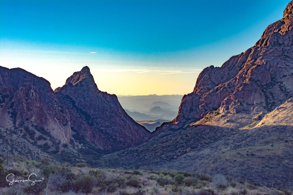 Big Bend National Park sunset