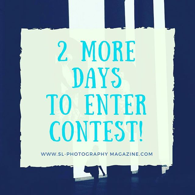 Last 2 days to enter contest!