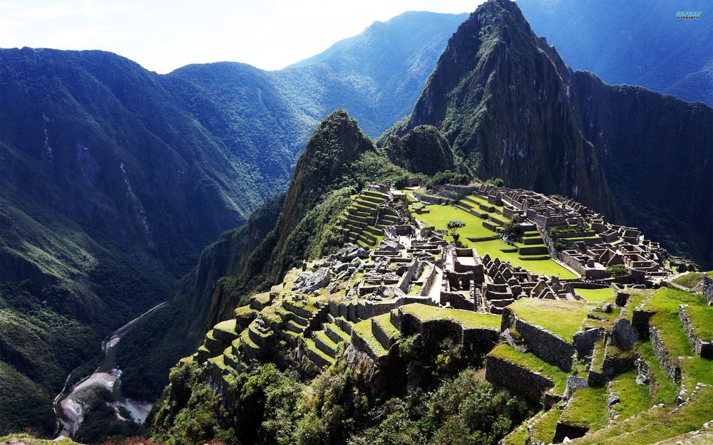 Machu Picchu, Peru — a beautiful example of intentional design in nature.