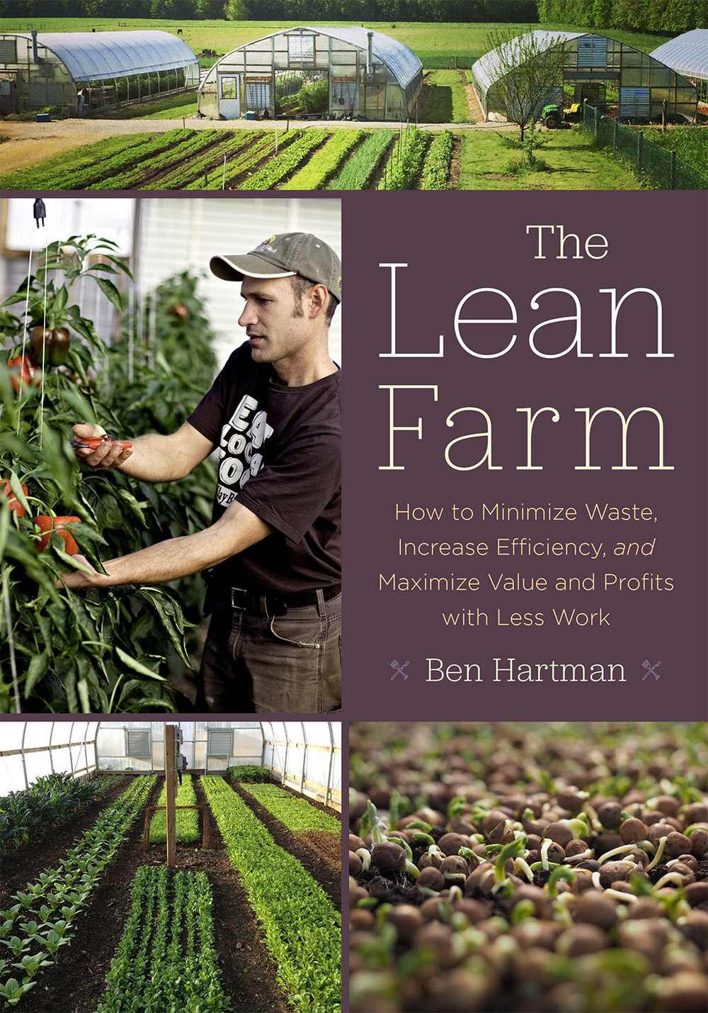 The Lean Farm , by Ben Hartman details Lean in the context of agriculture.