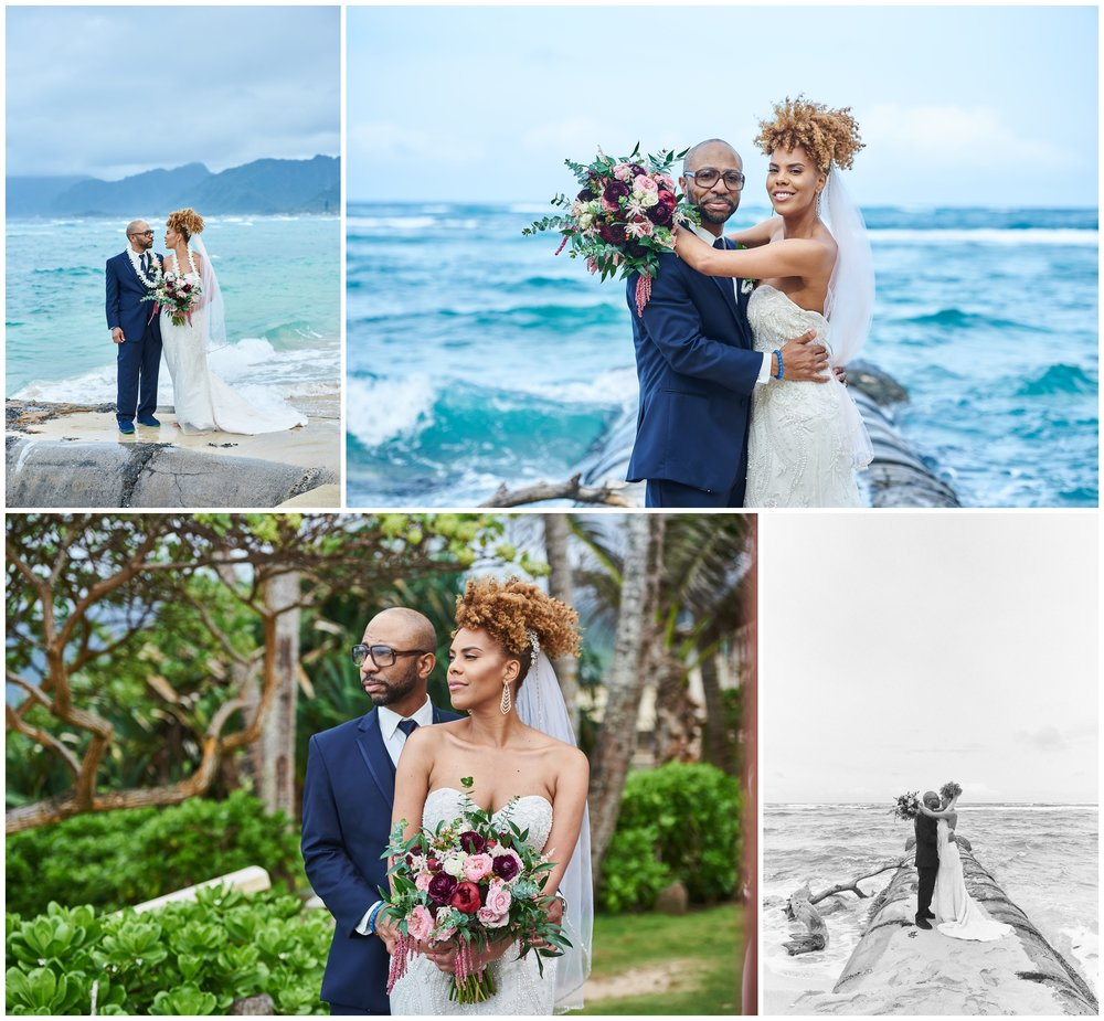 Bridal Portraits By The Beach
