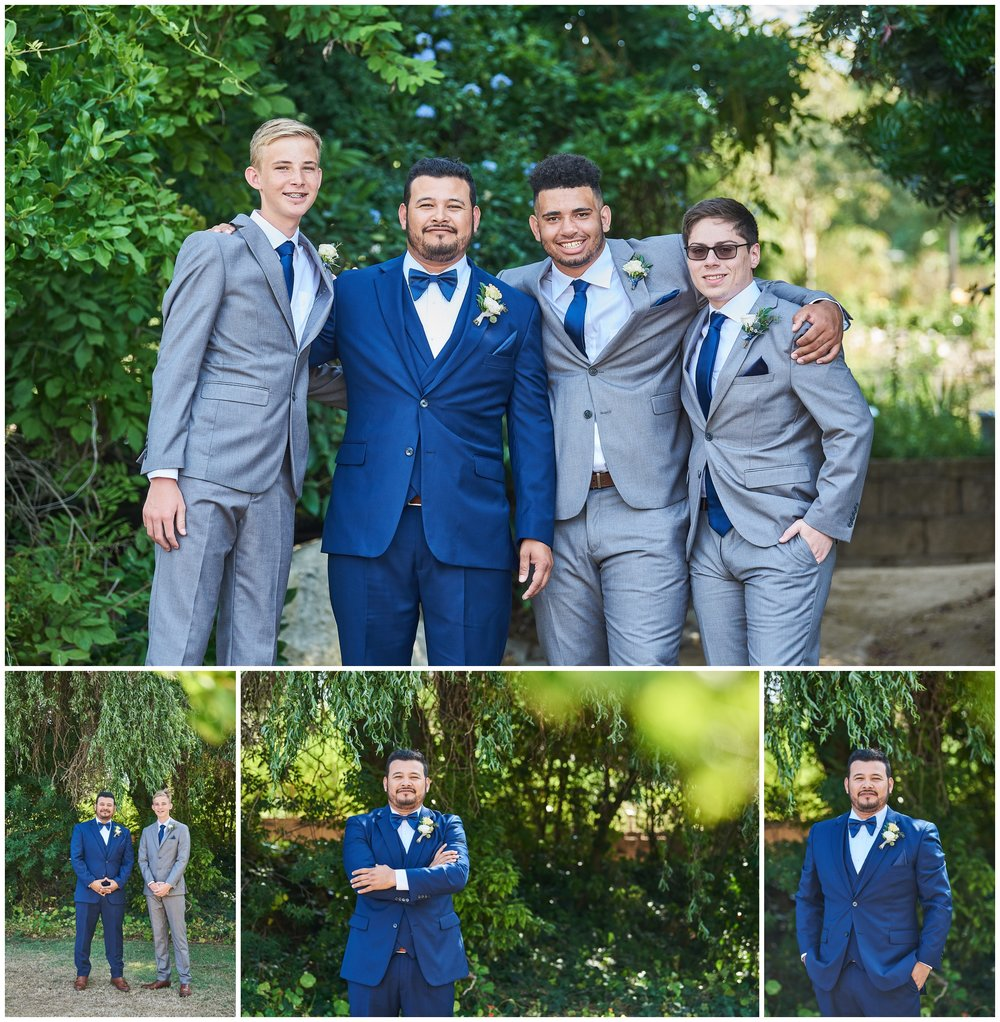 The Groom and His Grooms Men