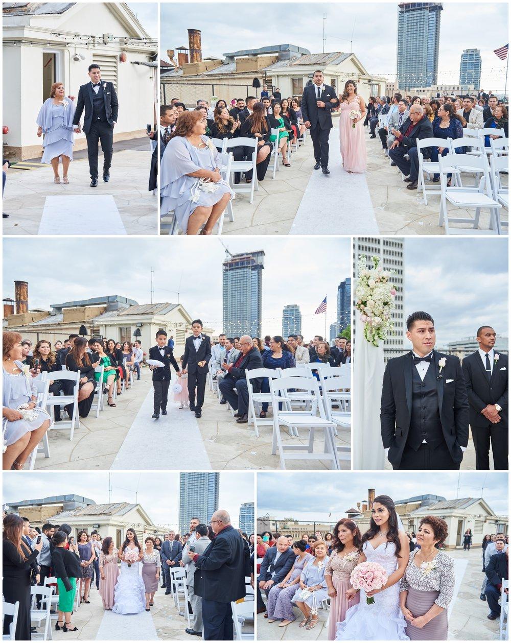 Rooftop Wedding