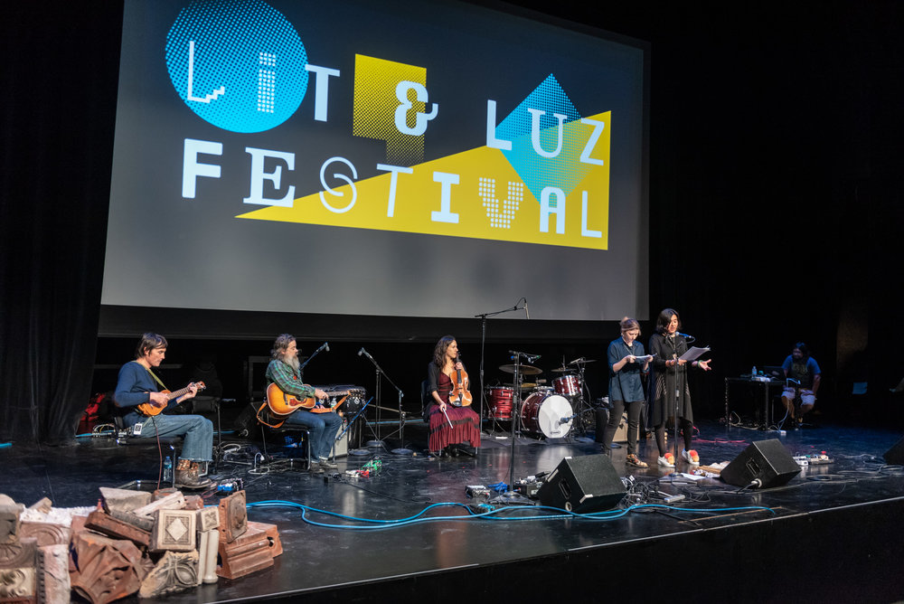 """Lit & Luz Live Show """"Assembly"""" Chicago - October 20, 2018, Museum of Contemporary Art Chicago. Photos by Lisa Korpan"""
