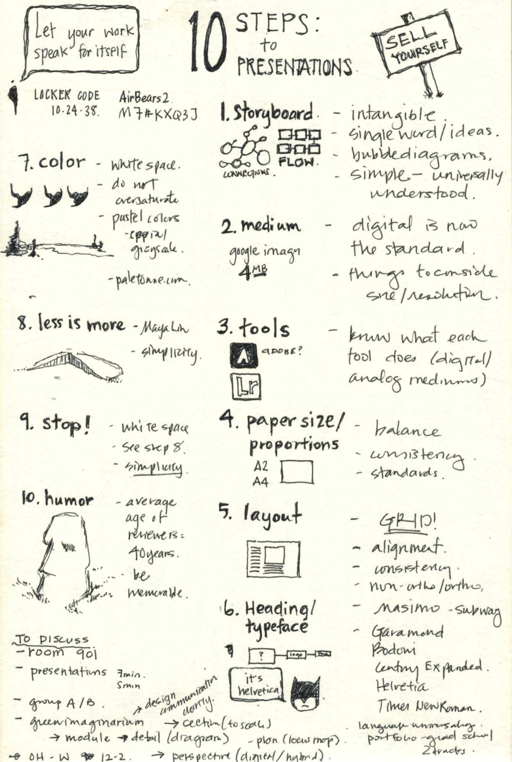 Notes on graphic design principles (2016)